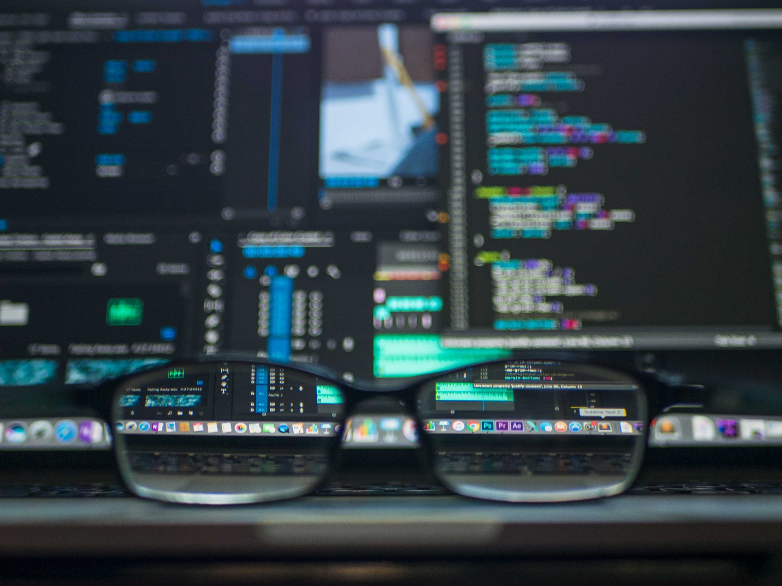 coding-computer-data-depth-of-field